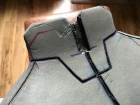 Mass Effect Armor Build- Liara breastplate burn details