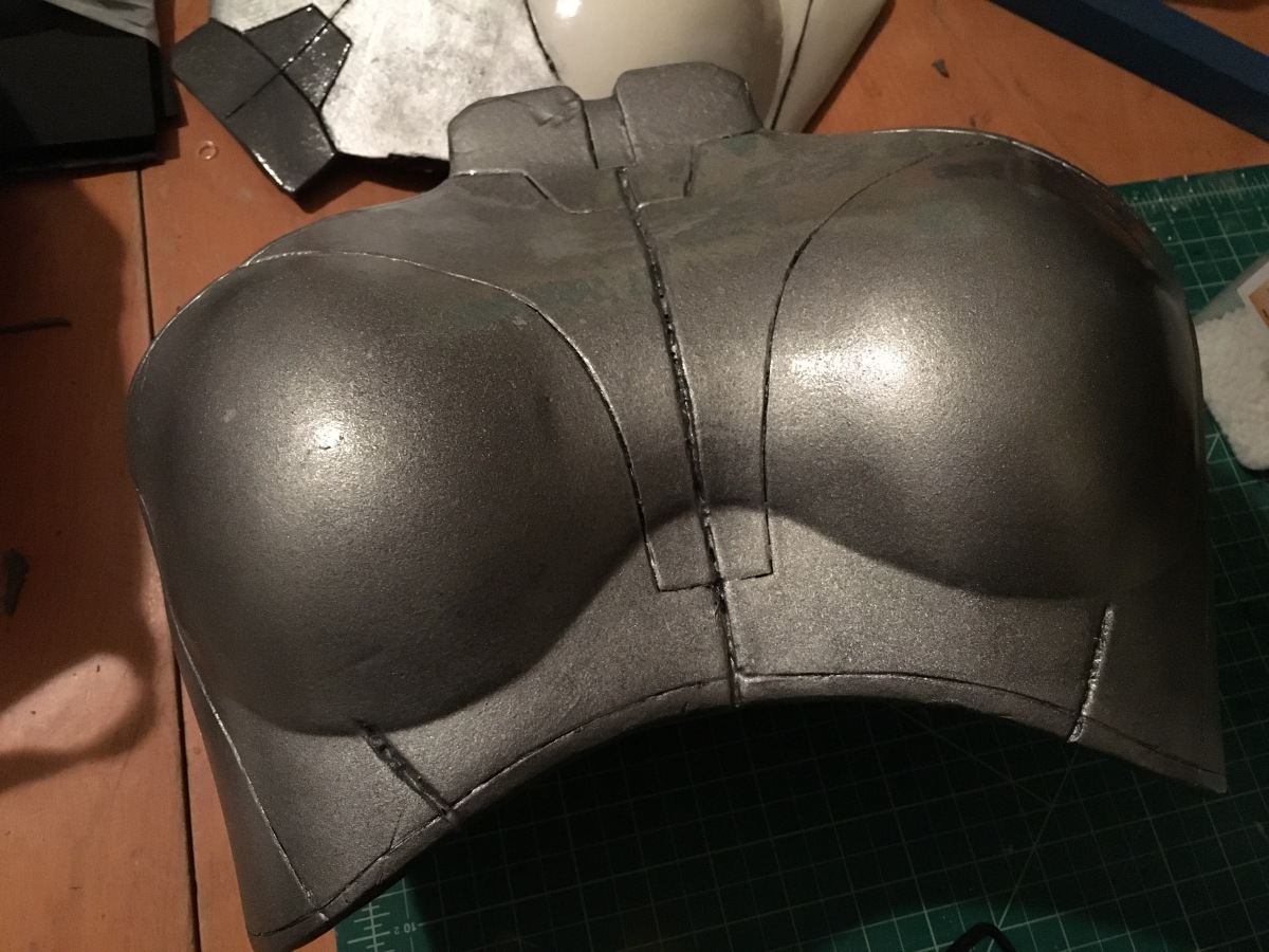 Mass Effect Armor Build- Liara breastplate