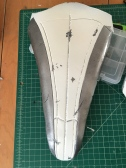 Mass Effect Armor Build- Liara breastplate chipped paint effect