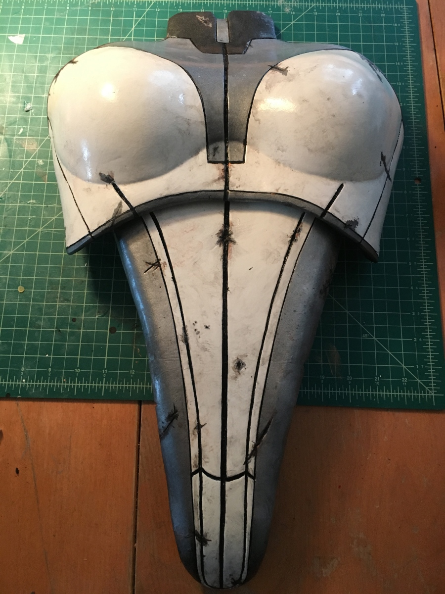 Mass Effect Armor Build- Liara breastplate weathered