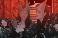 Twin Mistresses of Evil
